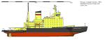 Russia - Icebreaker Kapitan Sorokin with Thyssen-Waas bow