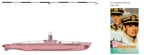Il Sottomarino rosa - operazione sottoveste